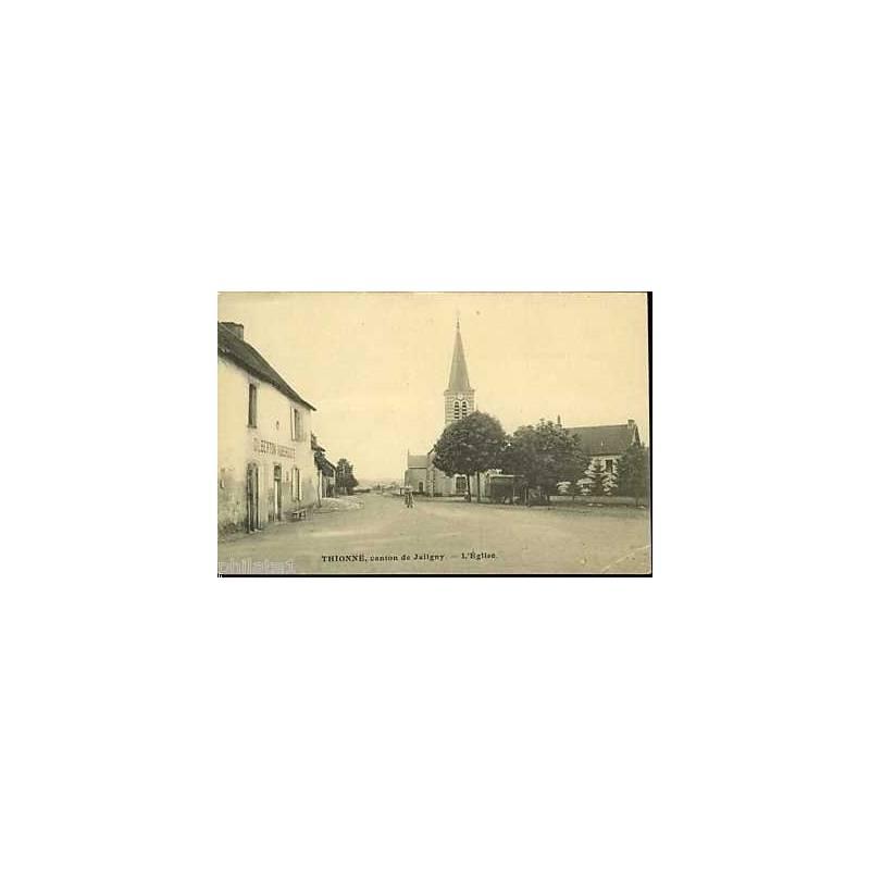 03 - Thionne - Canton de Jaligny - L'Eglise