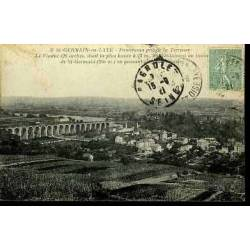 78 - St GERMAIN EN LAYE - PANORAMA ET VIADUC