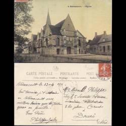 02 - Bierancourt - L'Eglise - 1910