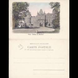 03 - Vichy - Chateau de Maulmont - Dos non divisé