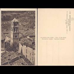 04 - Moustiers Ste Marie - Le remarquable clocher roman