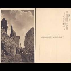 04 - Moustiers Ste Marie - Escalier d'accès à la Chapelle N.D. de Beauvoir