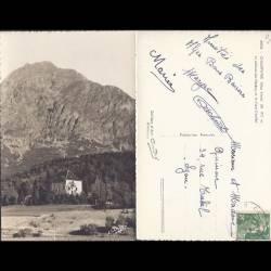 05 - Chauffayer - Le chateau des Herbeys et le mont Chaillol - CPSM