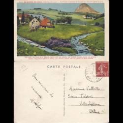 07 - Le gerbier des Joncs - Premier confluent de la Loire au Cros de Lizeret
