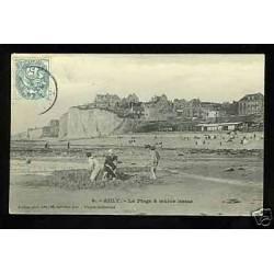 80 - Ault - La plage à maree basse