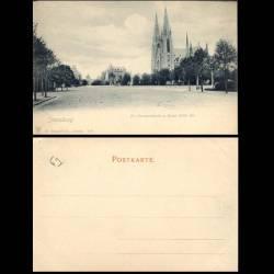 67 - Strassburg - Ev. Garnisonkirche u. Kaiser Wilh.-Str.