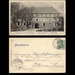67 - Entrée du couvent du Mont Ste Odile - 1902