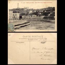 69 - Lyon - Caserne de Serin - Quai P. Scize - Coteau de Fourviere