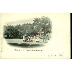83 - TOULON - ALLEE DES PALMIERS - ANIMEE