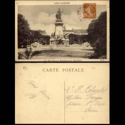 69 - Lyon - Place Carnot et monument de la république