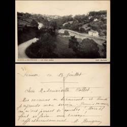 71 - Semur en Brionnais - Les deux routes