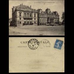 71 - autun - L'Hotel de ville et le théatre