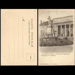 71 - Chalons sur Saone - Palais de Justice - Monument Thevenin