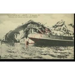 ENLEVEMENT DES CADAVRES APRES L'EXPLOSION - 25/09/1911
