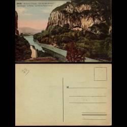 73 - La Balme - Fort de Pierre Chatel - Rhone - Les gorges
