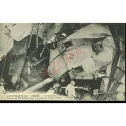 TOURELLE DE 240 BABORD RENVERSEE - 25/09/1911