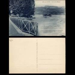 74 - Aix les bains - Le lac du bourget - Bateau