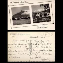 74 - Combloux - Le Mont Blanc et Aiguilles de Warrens