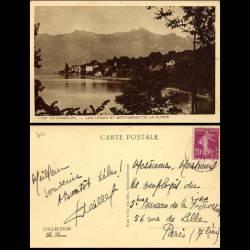 74 - St Gingolph - Lac Leman et montagnes Suisses