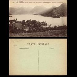 74 - Lac d'Annecy - Talloires et la montagne d'Entrevernes