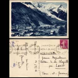 74 - Chamonix-Mont Blanc - Le Mont Blanc