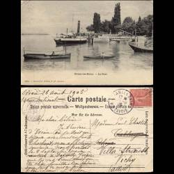 74 - Evians les bains - Le port - Bateaux