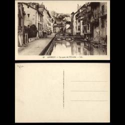 74 - Annecy - Le quai de l'Eveche - Passerelles