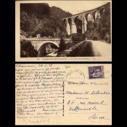74 - Chamonix-Mont Blanc - Le pont Ste-Marie - Attelage