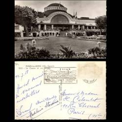 74 - Evian les Bains - Le casino et ses jardins