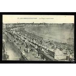 85 - Sables-d'Olonne - La plage à maree haute
