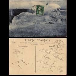 76 - Le Havre - La jetee un jour de tempete