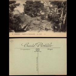 77 - Nemours - Rocher de Chaintréauville - La grotte - II