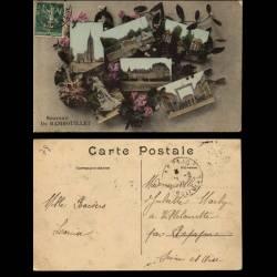 78 - Souvenir de Rambouillet - Multicarte - Fleurs