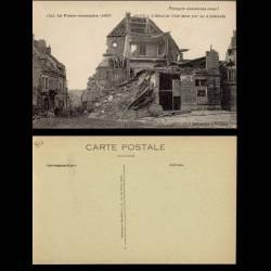 80 - roye - Hotel de ville miné par les allemands