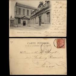 80 - Ham - Entree de l'Eglise Notre Dame - 1903