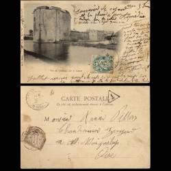 80 - Ham - Vue du Chateau sur le canal - 1904