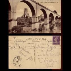 81 - Albi - Viaduc et cathedrale