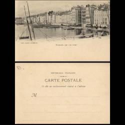 83 - Toulon - Le port - dos non divisé