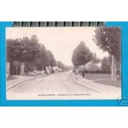 88 - BAINS-LES-BAINS - ENTREE DU PARC-AVENUE DE LA GARE