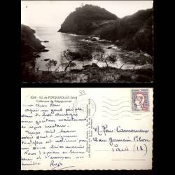 83 - Ile de Porquerolles - Calanque de Bréganconnet - CPSM