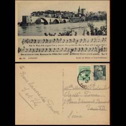 84 - Avignon - Pont St Bezenet et chanson