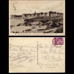 85 - Les Sables d'Olonne - Rochers et plage de la corniche