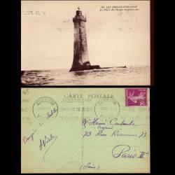 85 - Les Sables d'Olonne - Le phare des Barges en pleine mer
