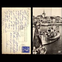 85 - Les Sables d'Olonne - Départ d'une promenade en mer - CPSM