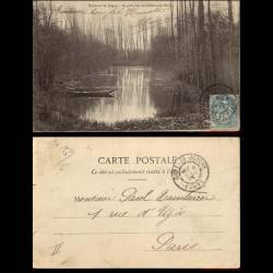 89 - Environs de Joigny - Le petit lac du chateau de Cezy