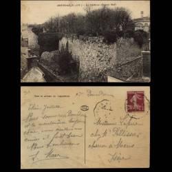 91 - Dourdan - Le chateau facade sud