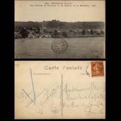 91 - Chevreuse - Vue generale de Chevreuse et chateau de la Madeleine