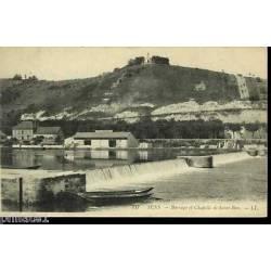 89 - Sens - Barrage et chapelle de Saint-Bon