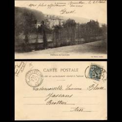 15 - Chateau de Lavoute - 1904