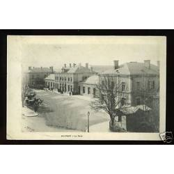 90 - Belfort - Fiacres devant la Gare